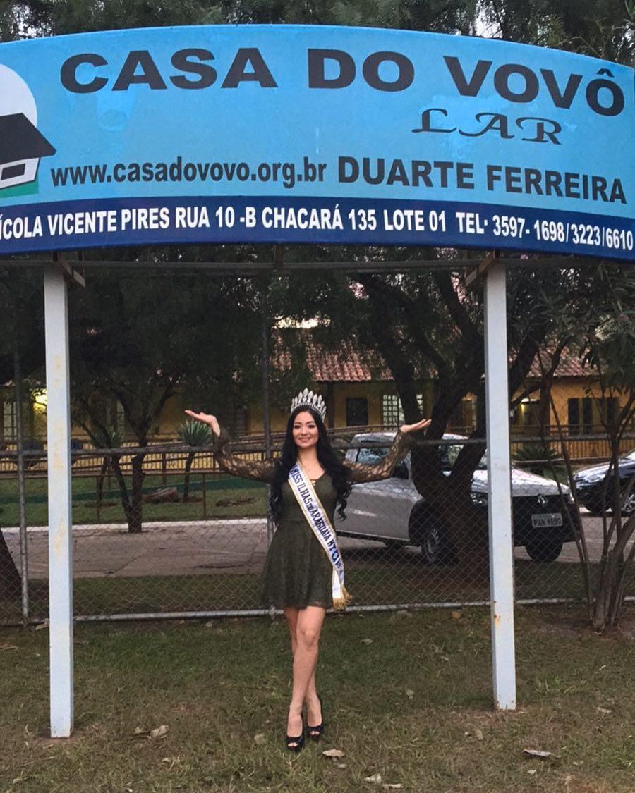 miss araguaia, ilhas (ilhas do araguaia) mundo 2017, quetlin heidrich. Seuwl24a