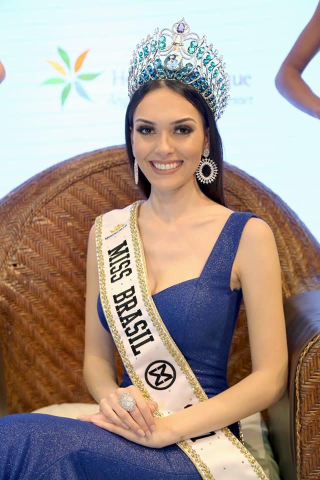 gabrielle vilela, top 2 de reyna hispanoamericana 2019/top 20 de miss grand international 2018/top 40 de miss world 2017/reyna internacional ganaderia 2013.  - Página 2 Rcvbmzme