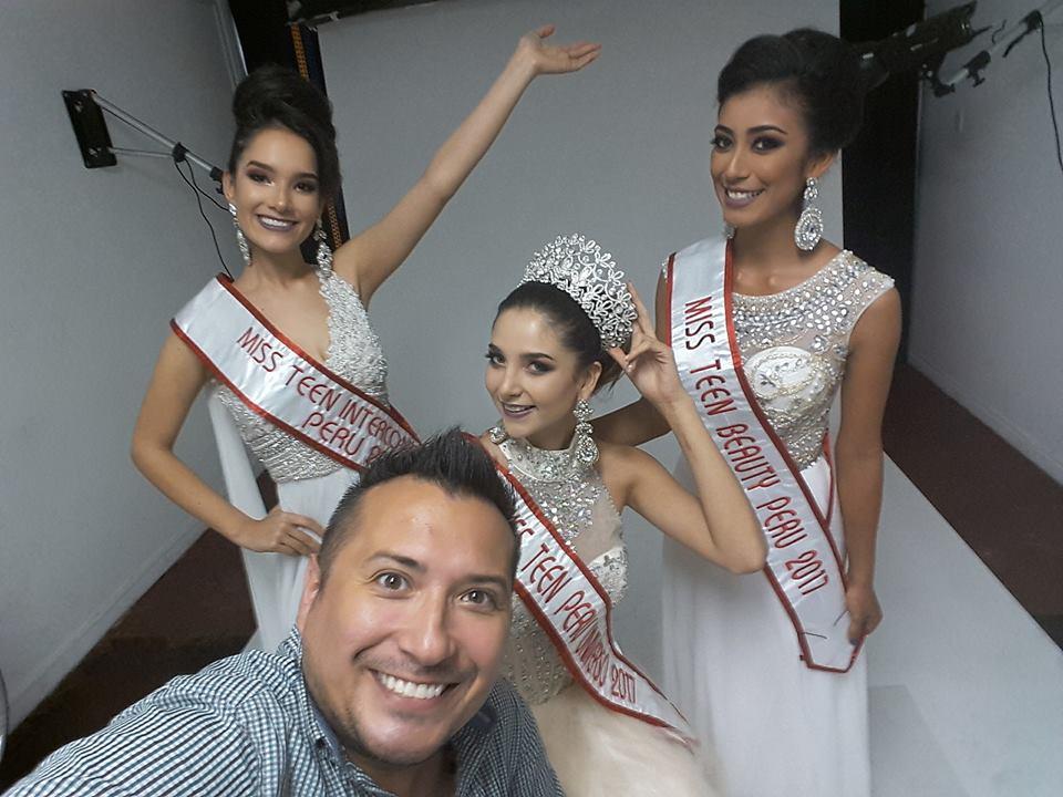 Rumbo a Miss Teen Universe-Estefania Olcese / Rumbo a Reina Teen Intercontinental-Marcela Calderon / Rumbo a Miss Teen Beauty Universe-Vivian Salinas. Jlepf8pc