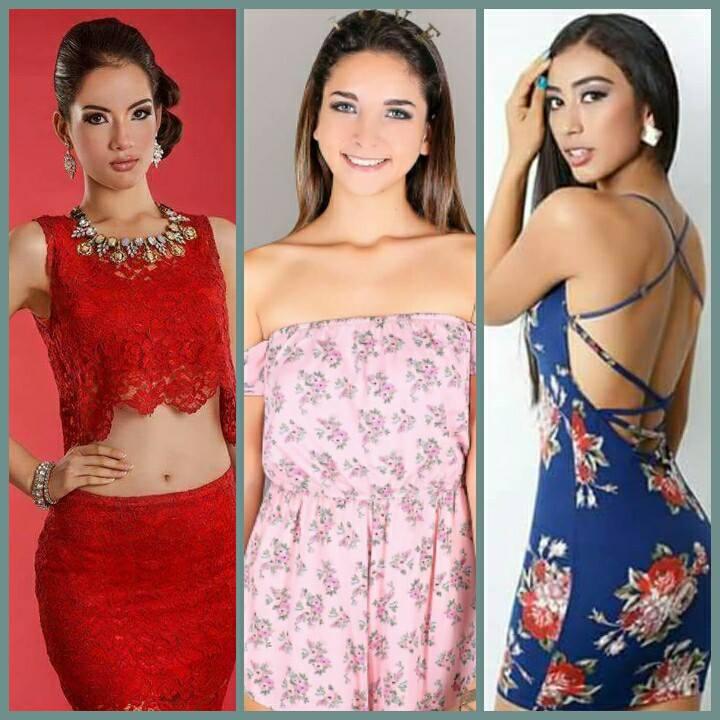 Rumbo a Miss Teen Universe-Estefania Olcese / Rumbo a Reina Teen Intercontinental-Marcela Calderon / Rumbo a Miss Teen Beauty Universe-Vivian Salinas. T8rn389v