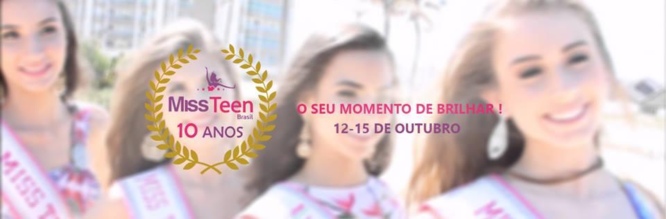 miss teen brasil 2017 (10 anos de concurso). final: 15 out. Cjipm85m