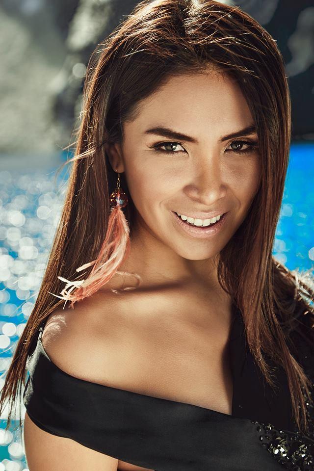 isamar salazar, top 12 de global charity queen 2017. Edam4nxt