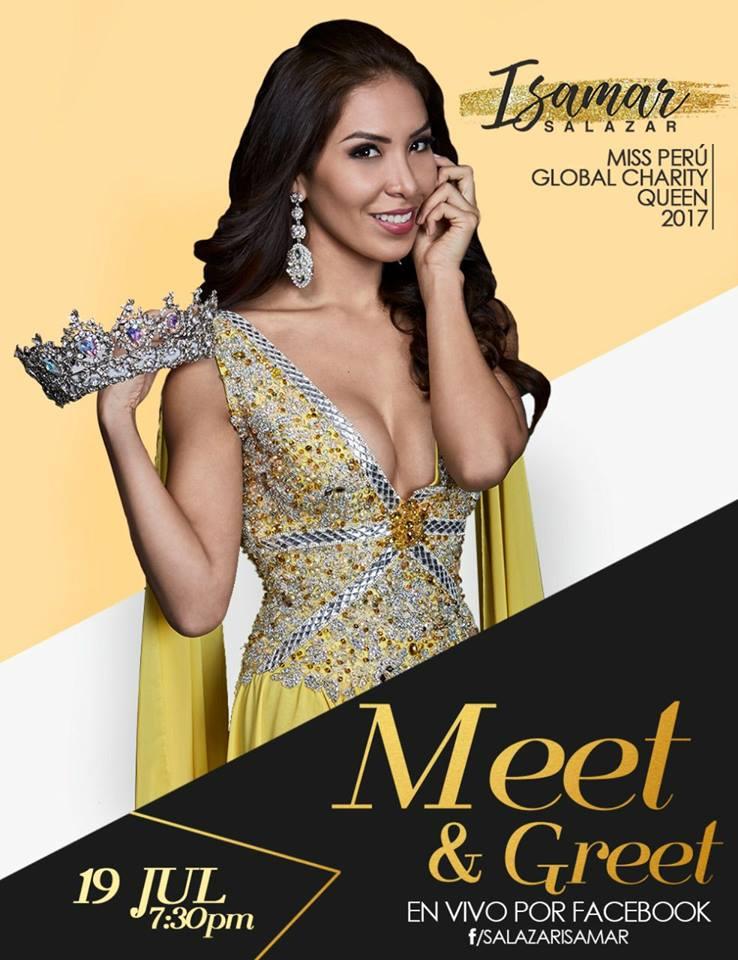 isamar salazar, top 12 de global charity queen 2017. Vtcyutmq