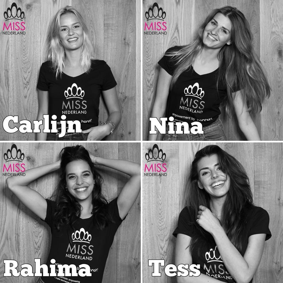 candidatas a miss universe netherlands 2018. final: 9 july. Iannugeo