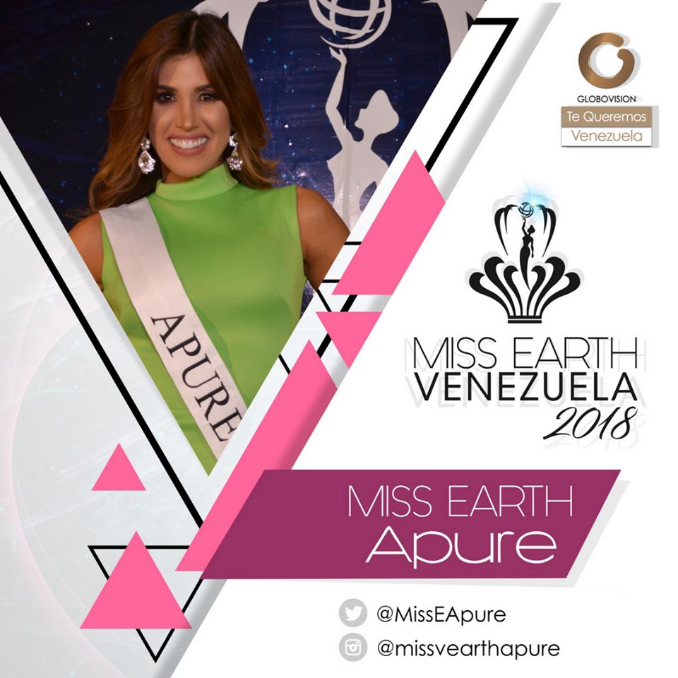 candidatas a miss earth venezuela 2018. final: 12 agosto. Gc7dtitv