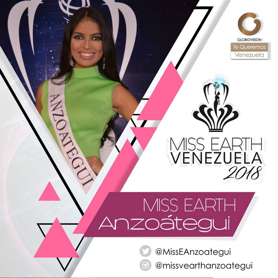 candidatas a miss earth venezuela 2018. final: 12 agosto. No4hzx6g