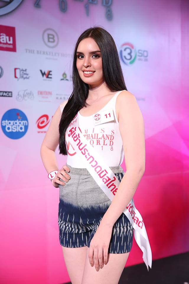 candidatas a miss world thailand 2018. final: 15 sept. Kpaxyrch