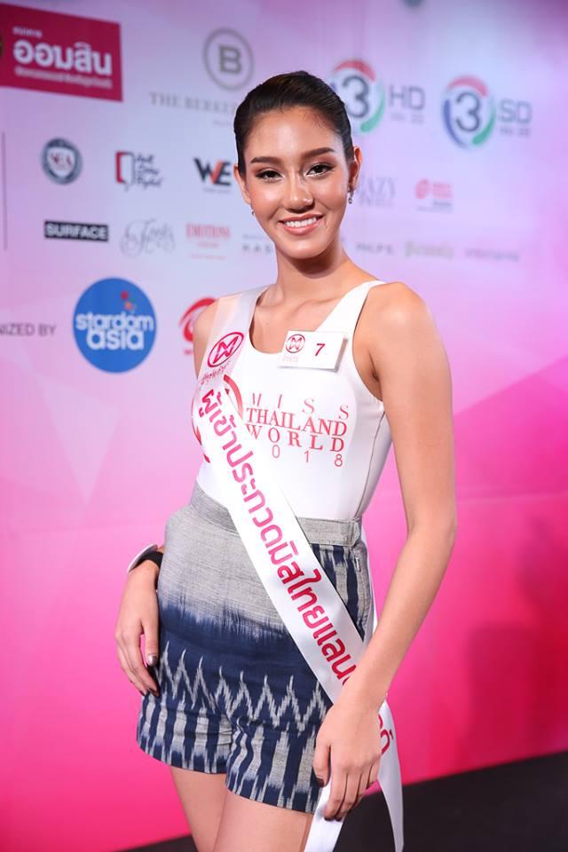 candidatas a miss world thailand 2018. final: 15 sept. Pfxnjspf