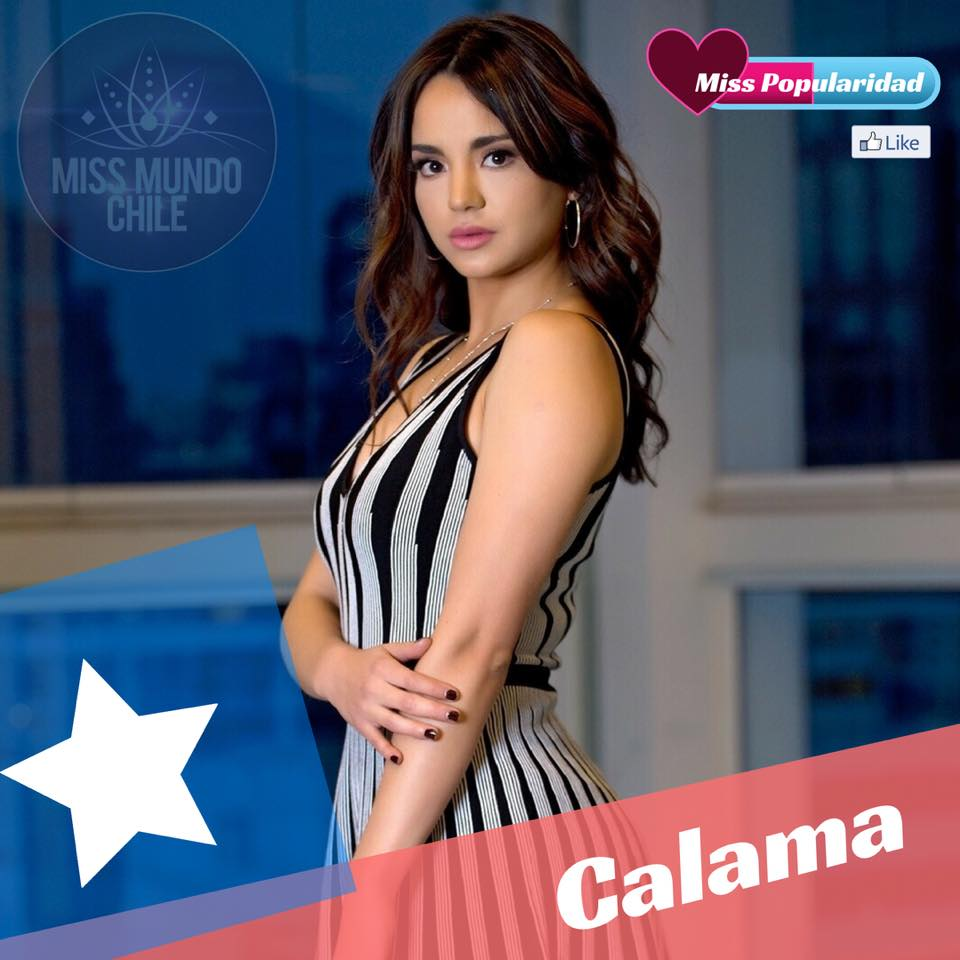 candidatas a miss chile mundo 2018. final: 2 sep. I4jobowp