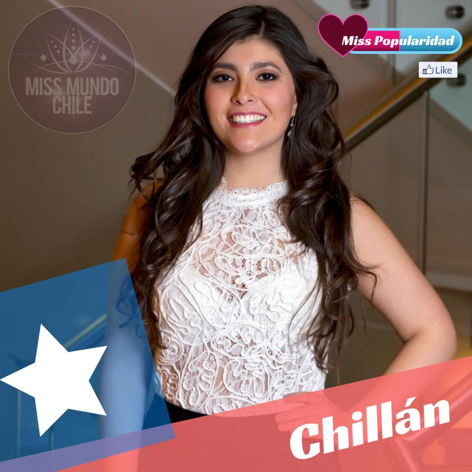 candidatas a miss chile mundo 2018. final: 2 sep. O88xmubz