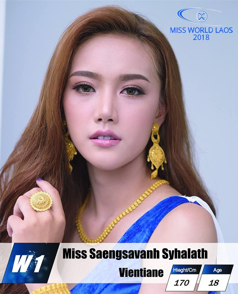 candidatas  miss world laos 2018. final: ? 64k5ziwb