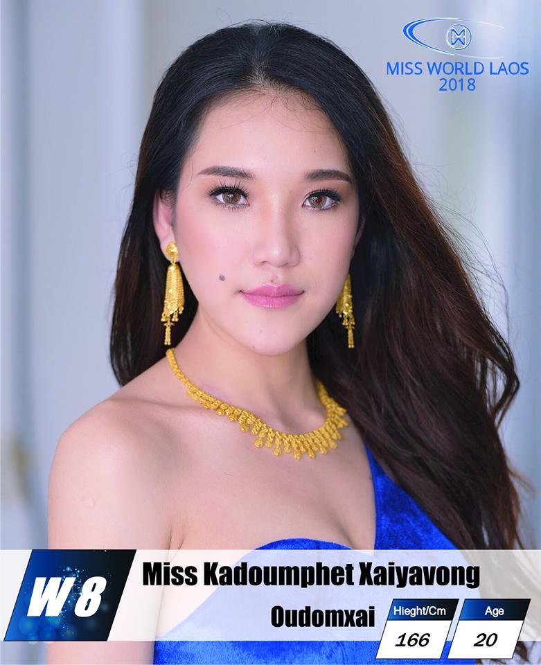 candidatas  miss world laos 2018. final: ? Nlnuda8o