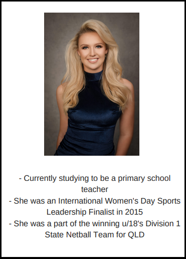 candidatas a miss world australia 2018. final: 31 agosto. - Página 2 3toibw5i