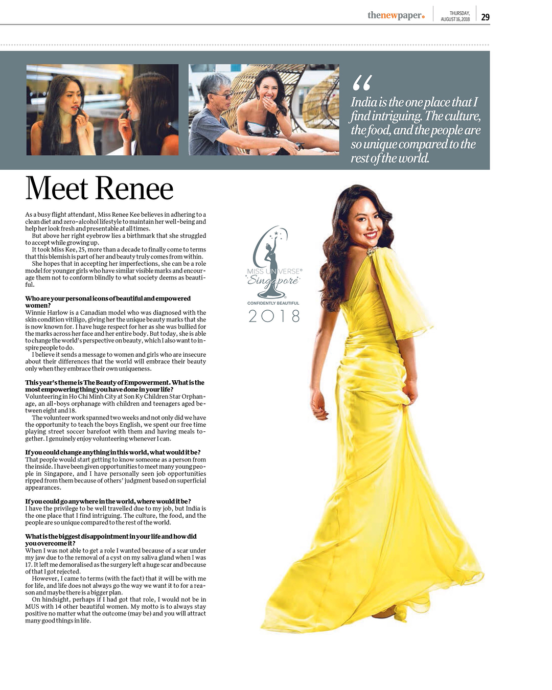 candidatas a miss universe singapore 2018. final: 31 agosto. - Página 5 Kgurziyy