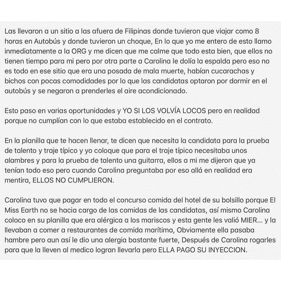 ATENCIÓN: España deja la franquicia de Miss Earth y da unas explosivas declaraciones en voz de su director: @marcelcastellano  Logkuxn5