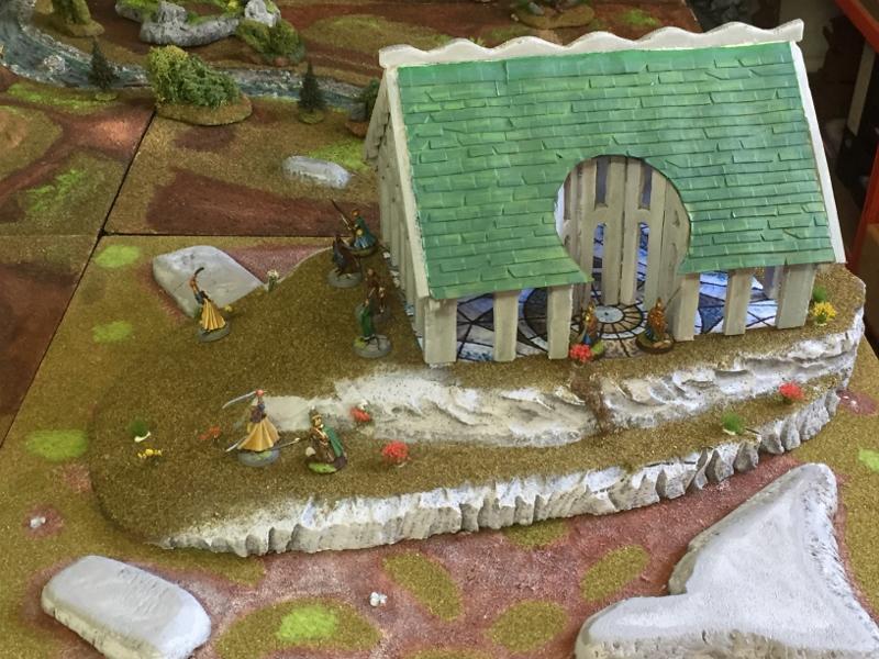 Troisième Table, les mellyrn de la Lórien Qnlaangi