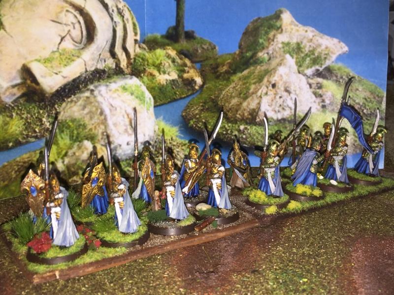 Aragorn et les 5 Armées - Rohan Wezgoazy