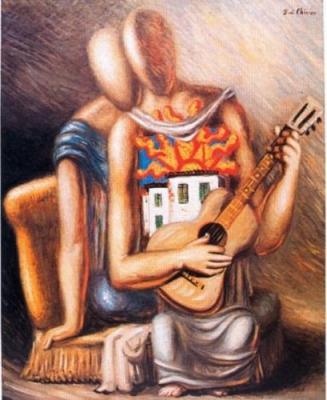 De Chirico Giorgio-de-chirico-canzone-meridionale-33530