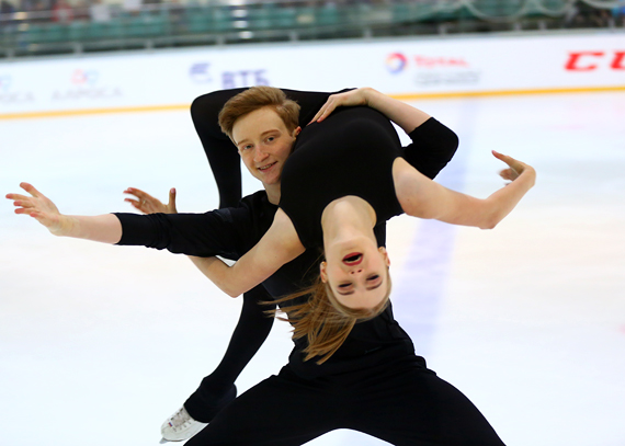 Анастасия Скопцова-Кирилл Алешин/танцы на льду - Страница 6 D16B4974