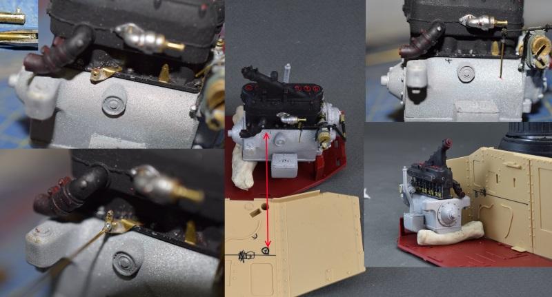FT-17 Takom 1:16 Rotule-accelerateur
