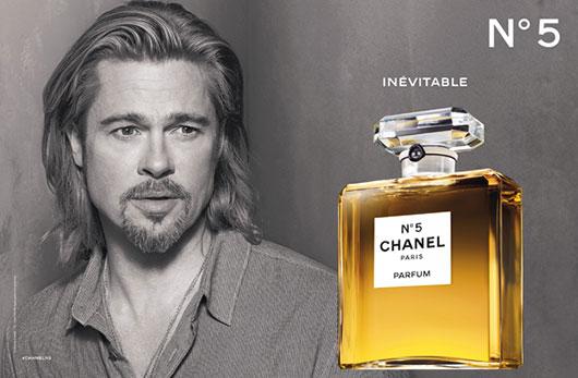 Poznati za Poznate Chanel-No5_Brad-Pitt