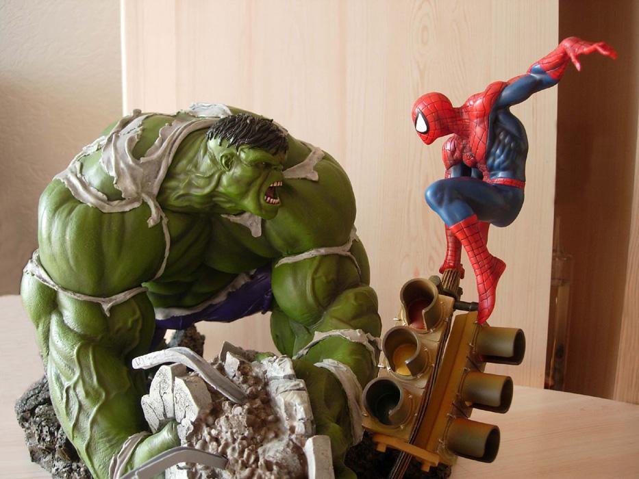 Collection n°48 : Ofredo Hulk%20Vs%20Spidey%201