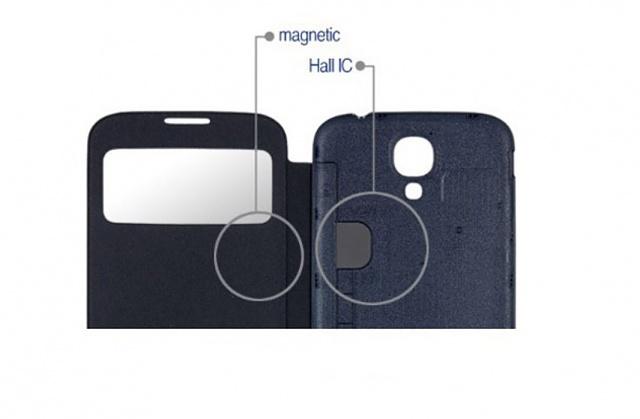 Comment fonctionne la Coque S-View Samsung ? S_View_magnet