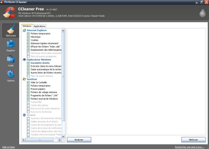 Mise à jour Majeure de CCleaner, version 5.00.5050 Ccleaner4