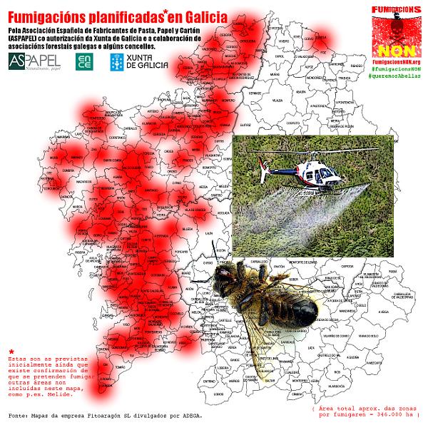 El caso de las abejas desaparecidas. Galiza-concellos-fumigacions-previstas-cascade-xunta-aspapel-eucaliptos-2012-w600