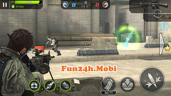 Quảng cáo, giới thiệu dịch vụ: Chiến dịch huyền thoại garena Game bắn súng đã phát hành ở nước ta Game-cdht