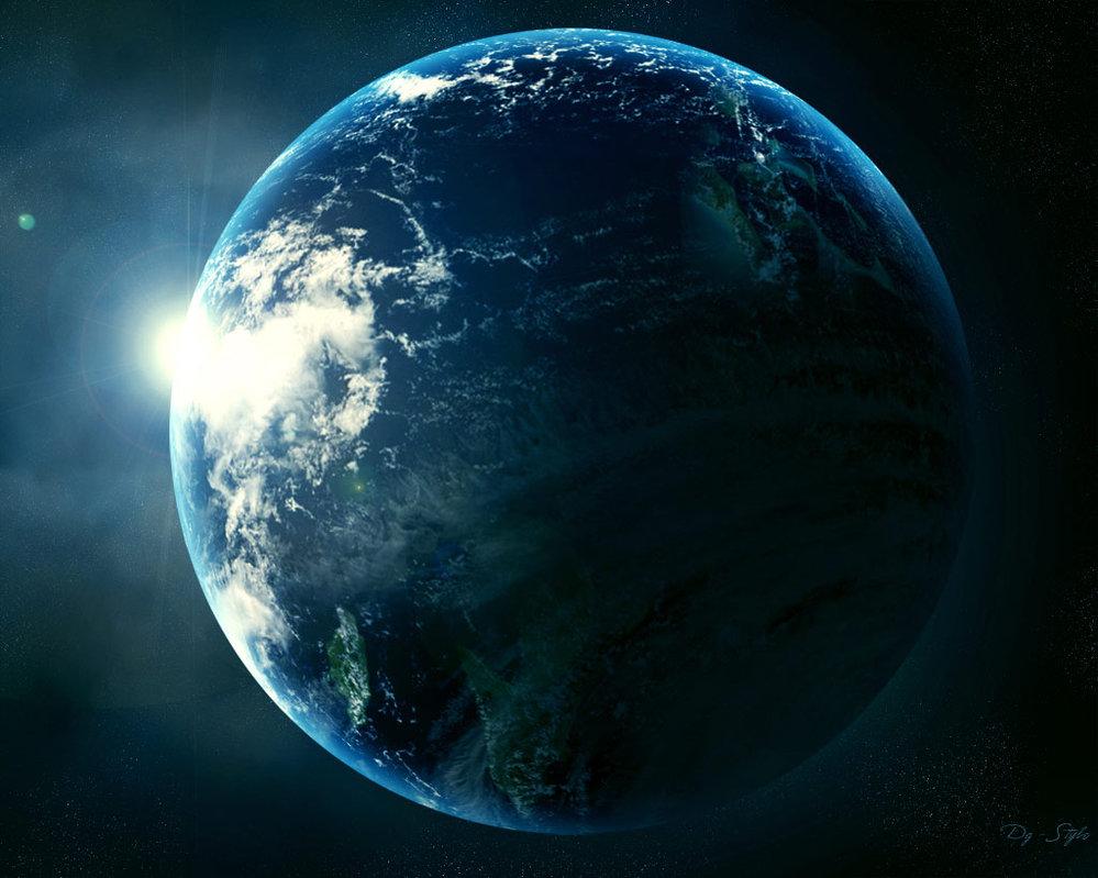 Slike Zemlje iz svemira  - Page 3 Into_Space_by_donsgirl
