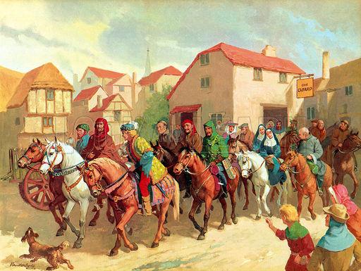 Les grands pèlerinages chrétiens à partir de l`Angleterre au Moyen-Âge - Canterbury -Terre-Sainte - Rome - Compostelle B841563