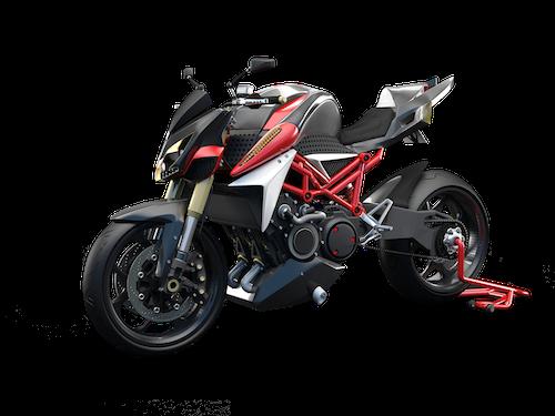 moto hybride FURION Furion-m1-noir