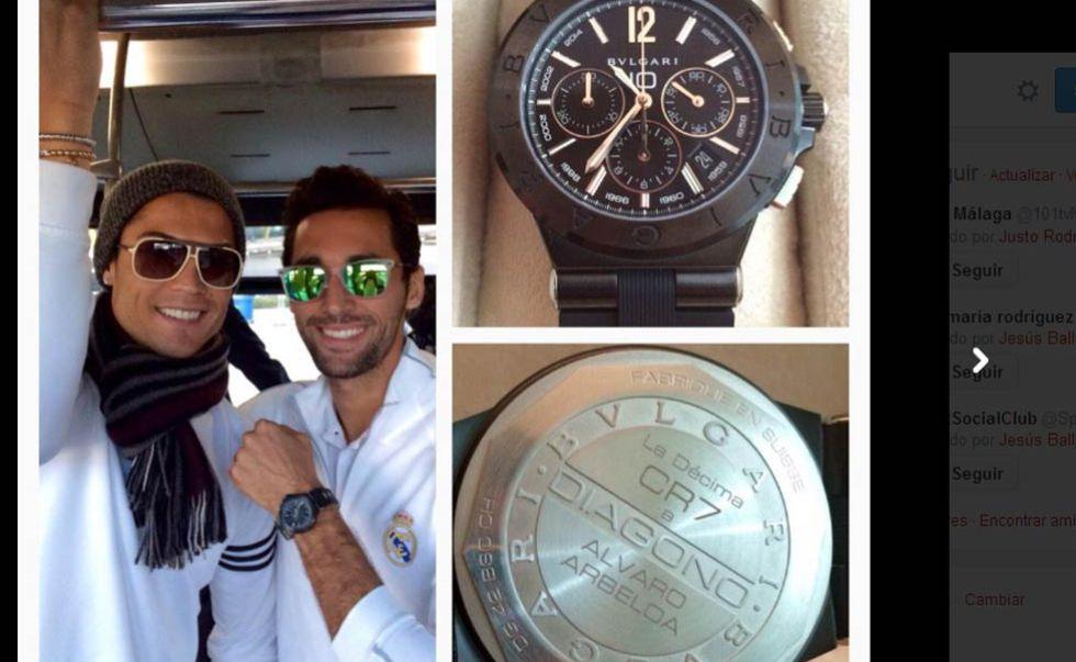 C. Ronaldo regala un reloj a todos sus compañeros 1418382931_312512_1418383057_noticia_grande