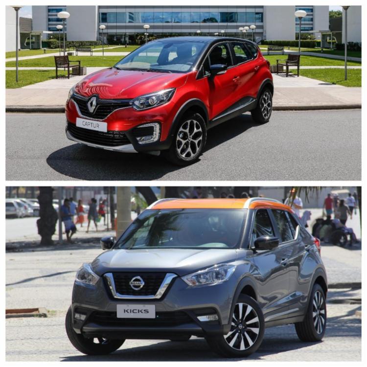 Veja o comparativo entre o Nissan Kicks e o Renault Captur 750_20175818293025