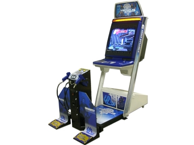 Borne Crazy Taxi upright Vcop3_cabinet