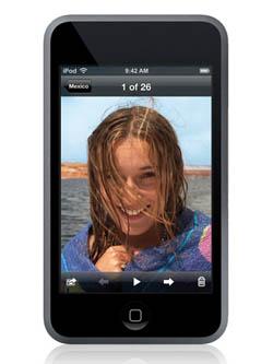 Novo iPod Touch pode ganhar videochamada TouchPhoto