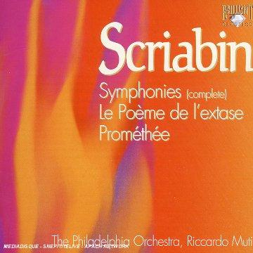 Scriabine - Oeuvres symphoniques 415QD79PQHL._