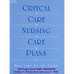 كتاب خطط الرعاية التمريضية الحرجة Critical Care , Nursing Care Plan 3579820dd7a093d46d45d010._AA240_.L