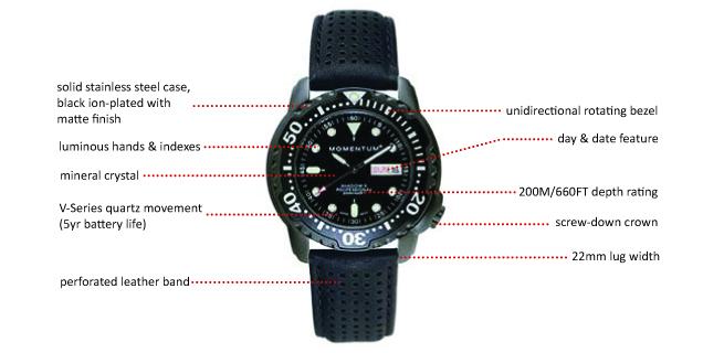 Momentum Shadow II, Professional 200M Diver  1M-DV86B2B_photo_1._V164982910_