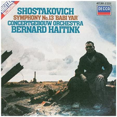 Chostakovitch : Symphonie n°13 16baf96642a07c68768e9110.L._SY450_