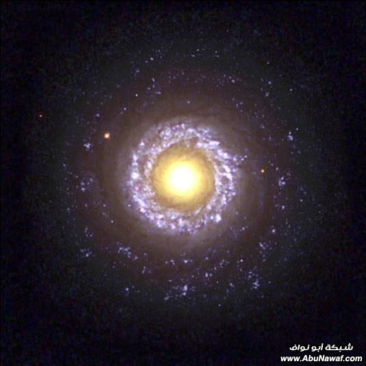 الفضاء الخارجي حقائق وأرقام  NGC7742SpiralGalaxyNASA