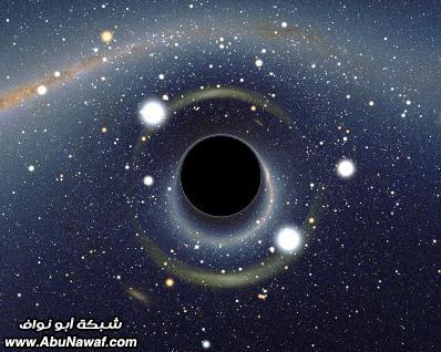 الفضاء الخارجي حقائق وأرقام  Black-hole-4