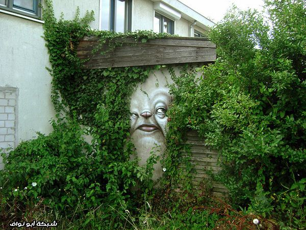 صور : رسام برازيلي  Gonzaga-street-art