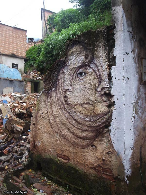 صور : رسام برازيلي  Street-art-brazil-2