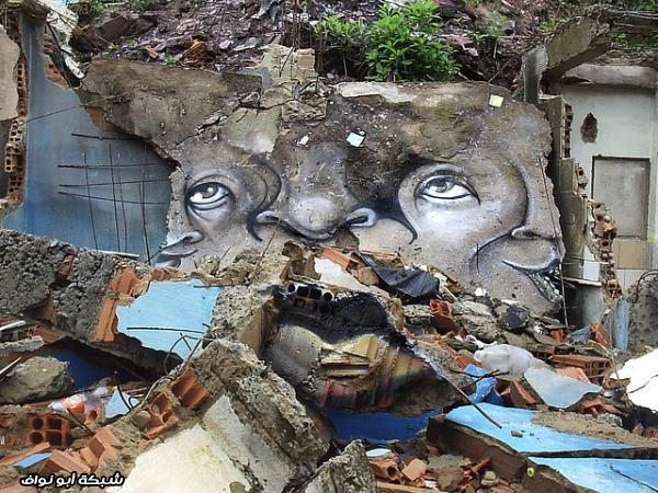 صور : رسام برازيلي  Street-art-brazil-3