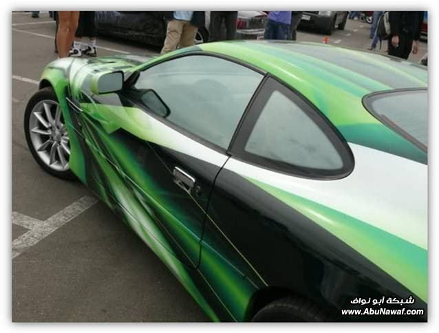سيارات بألوان غريبه 12