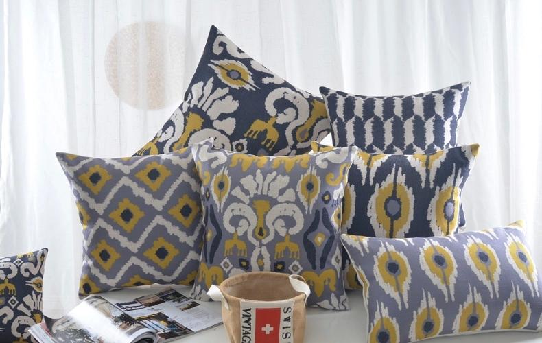 Conseil peinture piece a vivre  Geometric-square-Pillowcase-font-b-Pillow-b-font-Cushions-white-black-font-b-Grey-b-font