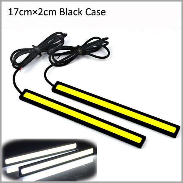 mon Electra FLHT - Page 4 2pcs-Lot-6W-pcs-17CM-length-2CM-width-White-LED-DRL-LED-car-daytime-running-light
