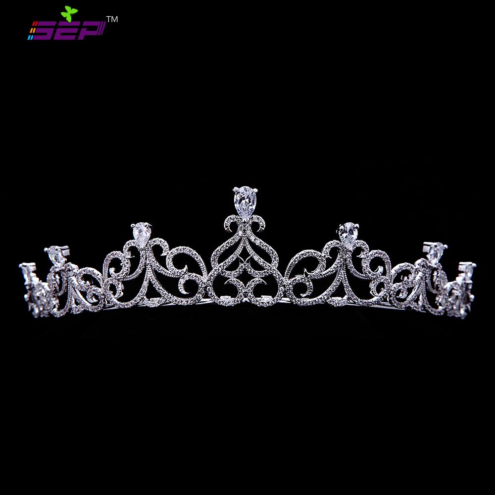 تيجان ملكية  امبراطورية فاخرة Full-AAA-CZ-font-b-Royal-b-font-font-b-Tiaras-b-font-Bridal-Wedding-Crowns